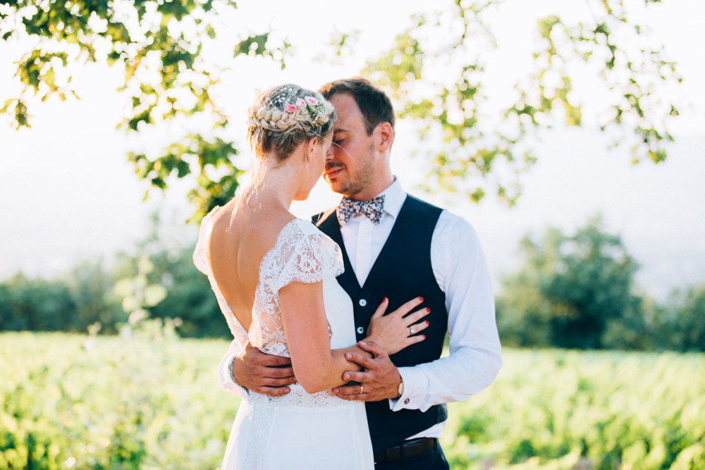 Un mariage au Chateau Grand Boise, Trets - Provence - Photographe mariage provence - Ingrid Lepan