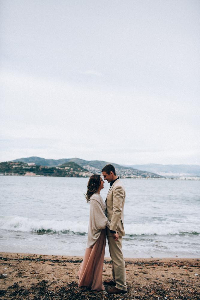 Un renouvellement de voeux sur la plage - Ingrid Lepan - Photographe - Cote d'Azur - France