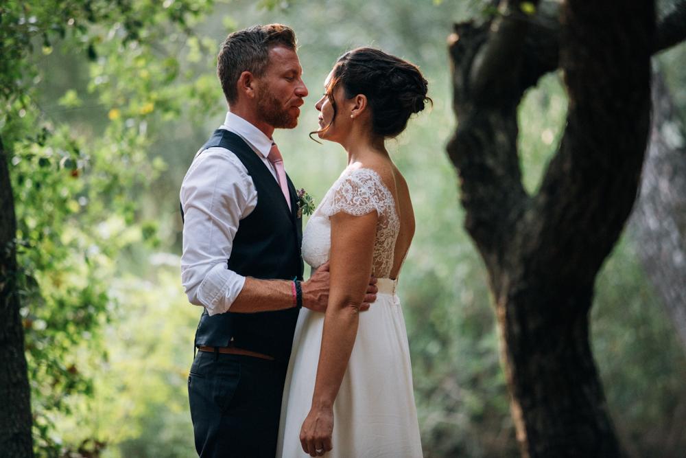 Un mariage simple et fleuri en Provence - Photographe mariage Cannes - Ingrid Lepan