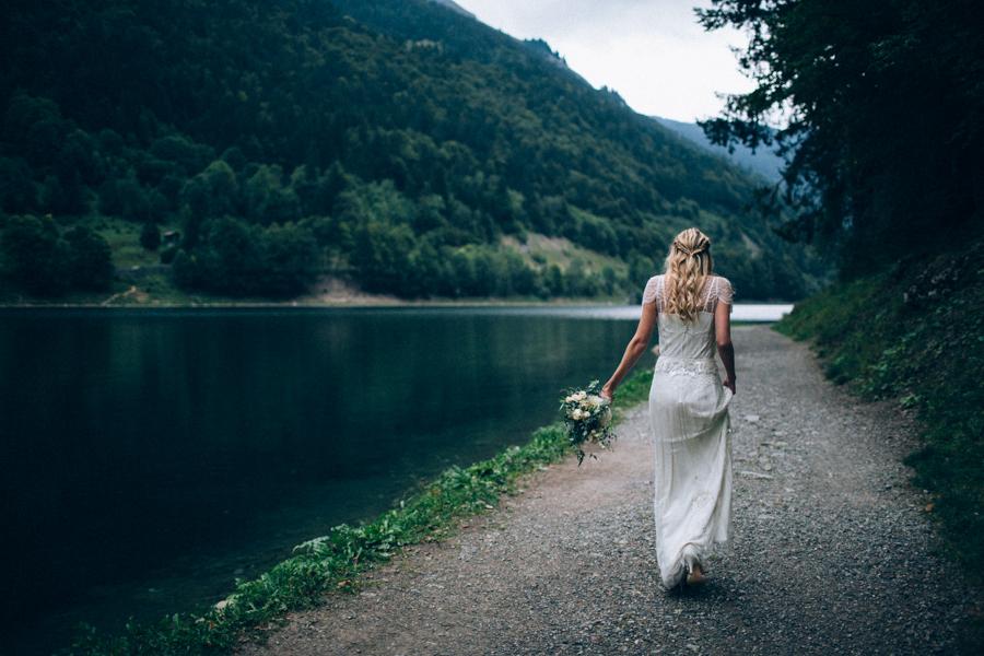 un mariage en montagne